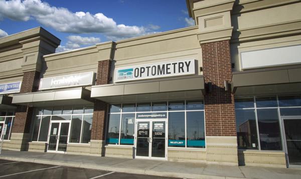 Modern Eyes Optometry building exterior