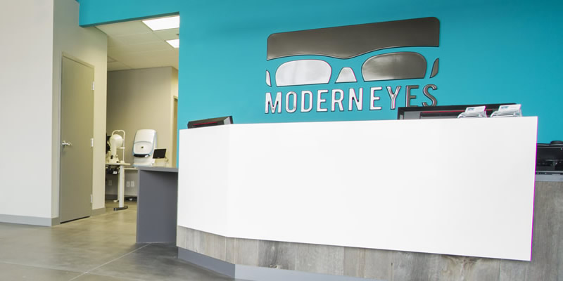 Modern Eyes Optometry Office